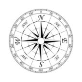 Compass Rose#2 — Stok Vektör