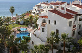 Tropical luxury home in Los Gigantos, Canary, Tenerife — Stock Photo