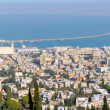 Stock Photo: Panoramof city of Haifa. Israel
