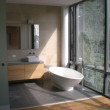 Modern luxury bathroom. - Foto Stock