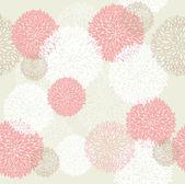 シームレスな春の花柄のパターン. — ストックベクタ