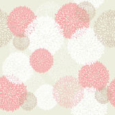Seamless spring floral pattern — Vector de stock