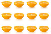 Orange background. — Stock Photo