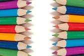 Background pencils. — Stock Photo