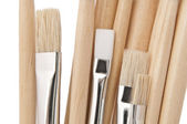 Artist paint brushes. — Photo