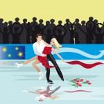 Постер, плакат: Figure skating