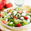 Royalty-Free Stock Photo: Salad with strawberry