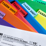 2010 税 — 图库照片