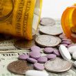 Stock Photo: Medication Costs