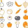 Vegetables — Vector de stock #5006257