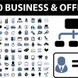 100 business - Stock Vector