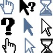 Cursor signs - Stock Vector