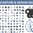100 nature — Vector de stock #5007858