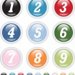 Number buttons — Stock Vector #5012742
