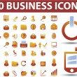 Royalty-Free Stock Imagen vectorial: 50 top business signs