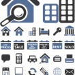 Real estate signs — Stockvektor