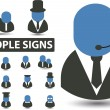 Royalty-Free Stock Imagen vectorial: Signs