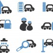 Royalty-Free Stock Imagen vectorial: Cars signs