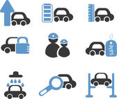 Cars signs — Stockvektor