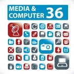 36 media — Stock Vector #5022204