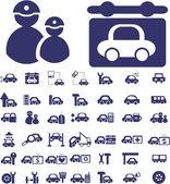 Auto signs — Stock Vector