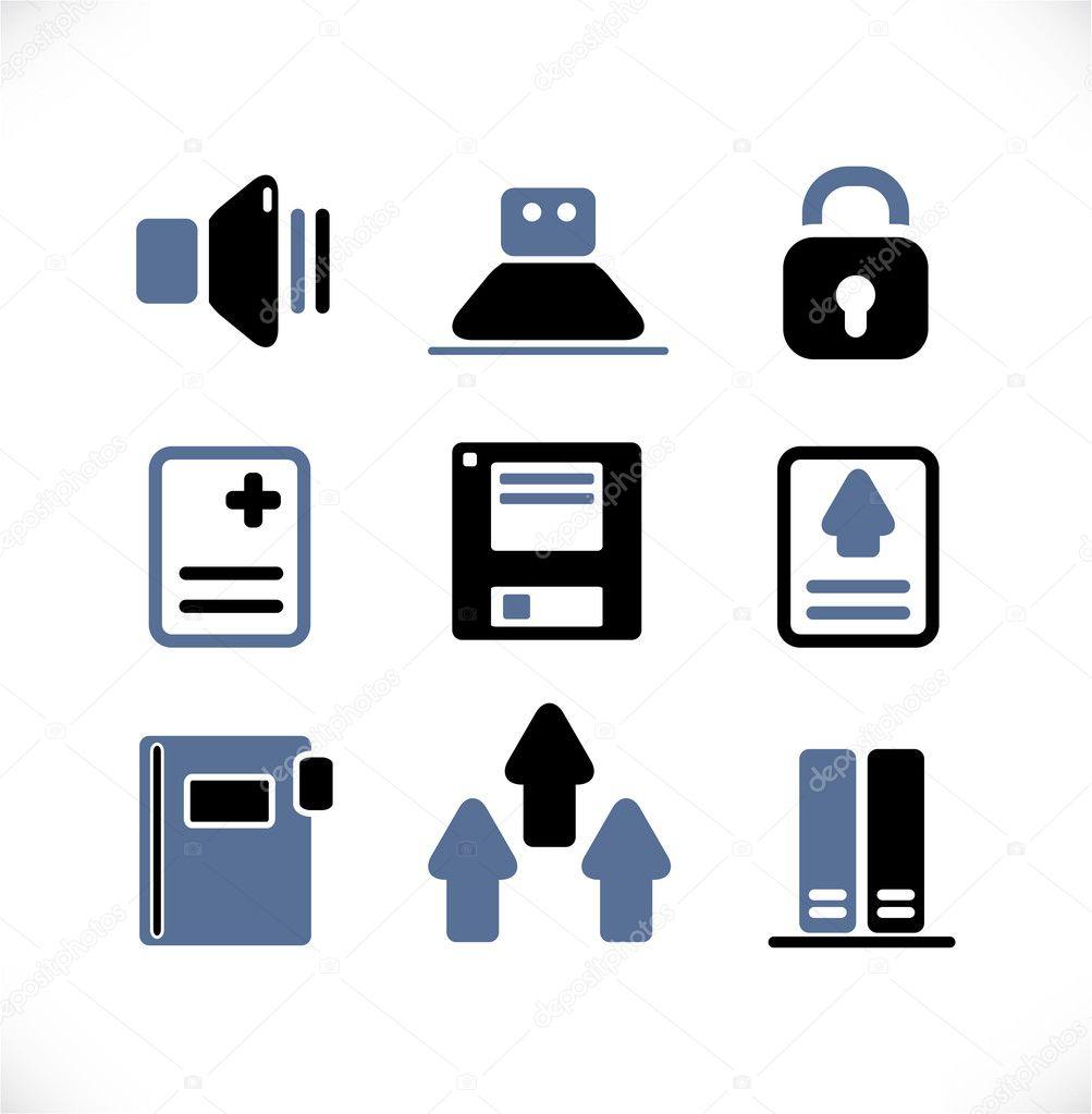 办公室的身份标志 — 图库矢量图像08