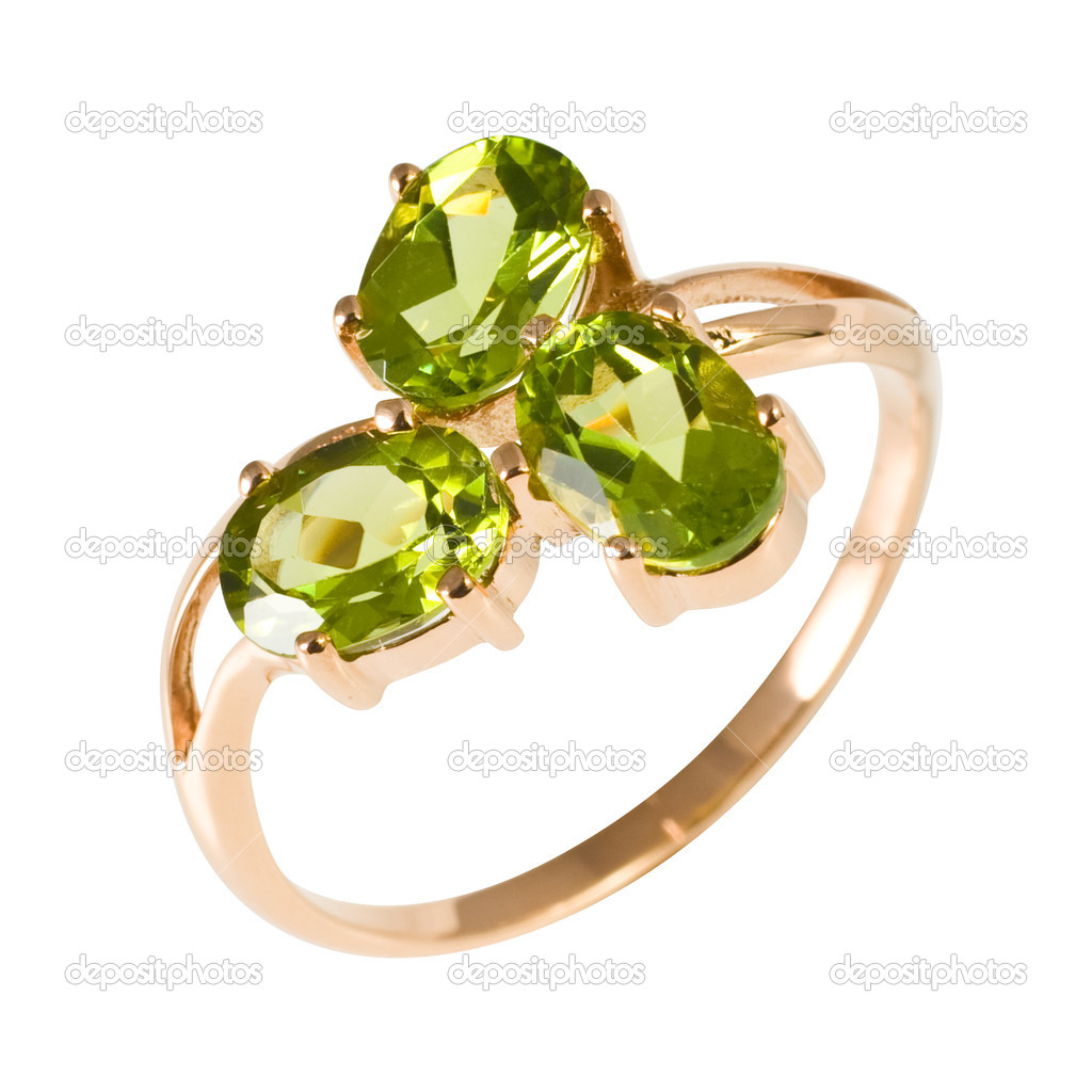  Golden ring with stonesjewelry, golden   Stock Photo #4934197