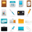 Vector set of office web elements — 图库矢量图片 #4909094