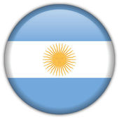 Argentina flag icon — Stock Vector