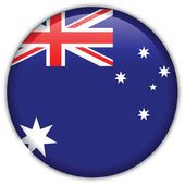 Australia flag icon — Stock Vector