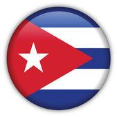 Icône de drapeau de cuba — Vecteur