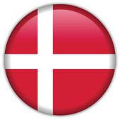 Denmark flag icon — Stock Vector