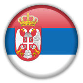 Serbia flag icon — Stock Vector
