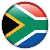 South Africa flag icon — Stock Vector