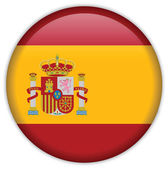 Spain flag icon — Stock Vector