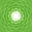 Abstract green ornament - Stock Photo