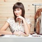Woman's stylist — Stock Photo
