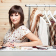 Woman's stylist — Stock Photo