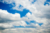 White clouds on sky — Stock Photo