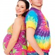 Pregnant woman with her husband — Stock Photo #5157388