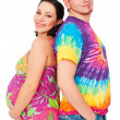 Pregnant womwith her husband — Foto de stock #5157388