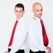 Two successful businessmen — Stock Photo #5157654