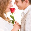 Beautiful romantic couple - Foto de Stock