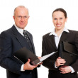 Smiley business — Stock Photo