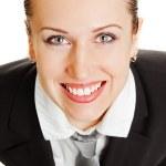 Portrait of happy woman in formal wear — Stock Photo #5160408