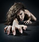 зло женщина — Стоковое фото