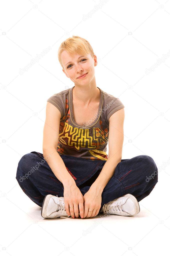 смайлик девушка: