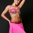 Pretty belly dancer — Stock Photo #5181115