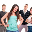 Cheerful group of young — Stock Photo #5181591