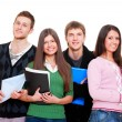 Stock Photo: Cheerful students